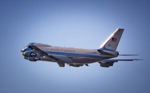 boeing 747-200b, авиация, пассажирские самолёты, sam, 28000, борт, номер, один, boeing, vc25, ввс, сша, военно-воздушные, силы, президентский, транспорт, пассажирский, самолет