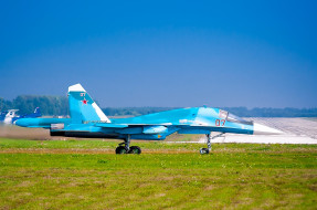 су- 34, авиация, боевые самолёты, су-, 34, самолёт, боевой, бомбардировщик
