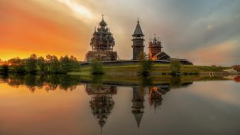 обои для рабочего стола 1920x1080 города, - православные церкви,  монастыри, кижи, карелия