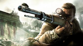 обои для рабочего стола 1920x1080 видео игры, sniper elite v2, sniper, elite, v2