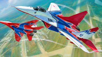 авиация, боевые самолёты, миг-29