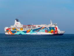 Princess Anastasia, корабль, лайнер, паром, море, Балтика, круиз