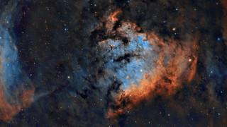космос, галактики, туманности, туманность, ngc, 7822