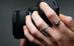 разное, руки,  ноги, камера, рука, кольца