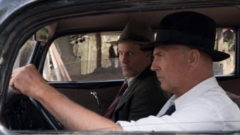 the highwaymen, кадры из фильма, триллер, драма, криминал, детектив, биография, кевин костнер, вуди харрельсон