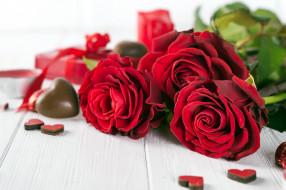 обои для рабочего стола 2560x1706 праздничные, день святого валентина,  сердечки,  любовь, розы, сердечки