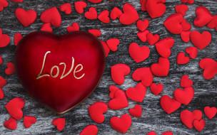 обои для рабочего стола 2560x1600 праздничные, день святого валентина,  сердечки,  любовь, сердце, надпись, сердечки