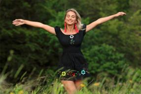 платье, серьги, настроение