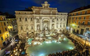 trevi fountain, города, рим,  ватикан , италия, trevi, fountain
