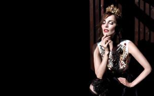 музыка, сати казанова, певица, платье, корона
