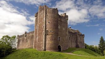 doune castle, scotland, города, замки англии, doune, castle