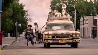 ghostbusters afterlife, кадры из фильма, фантастика, комедия, боевик, финн вулфард