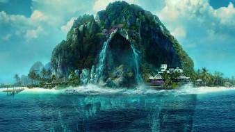остров фантазий, постер, триллер, фантастика