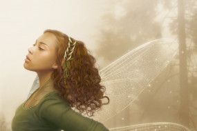 фэнтези, феи, девушка, фея, крылья