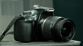 бренды, canon, фотоаппарат, камера, черный