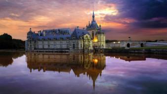 chateau de chantilly, города, замки франции, chateau, de, chantilly