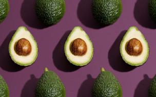 еда, авокадо, экзотический, фрукт