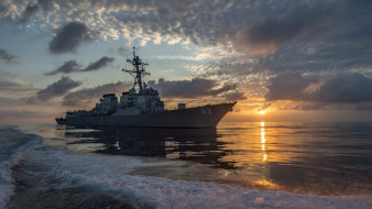 корабли, крейсеры,  линкоры,  эсминцы, uss, lassen, ddg-82