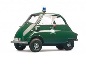автомобили, полиция, isetta