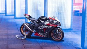 обои для рабочего стола 1920x1080 мотоциклы, kawasaki, zx10r