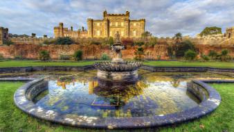 culzean castle, города, замки англии, culzean, castle