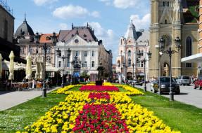 нови сад, города, - улицы,  площади,  набережные, нови, сад, сербия, город, здания, улица, памятник
