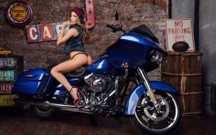 обои для рабочего стола 3840x2401 мотоциклы, мото с девушкой, красивая, девушка