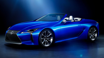 lexus lc 500 convertible structurial blue edition 2020 , jp, автомобили, lexus, lc, 500, convertible, srtucturial, blue, edition, 2020, крутой, автомобиль, ставший, легендарной, классикой