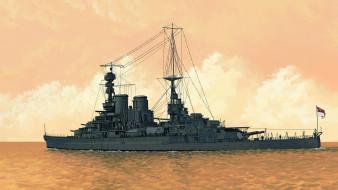 корабли, рисованные, hms, repulse, u-joe