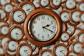 разное, часы,  часовые механизмы, много, коллаж