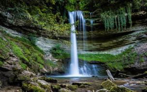 обои для рабочего стола 2560x1600 природа, водопады, поток, водопад, вода