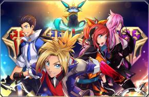 видео игры, league of legends, команда, персонажи