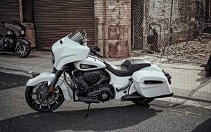 2020 indian chieftain dark horse, мотоциклы, indian, 2020, белый, мотоцикл, люкс, новый, dark, horse, американские