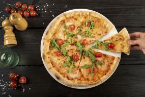 еда, пицца