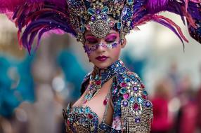 обои для рабочего стола 2048x1365 разное, маски,  карнавальные костюмы, карнавал