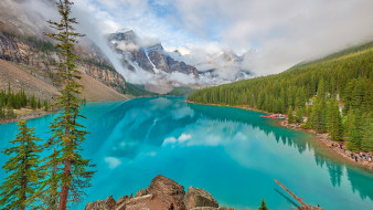 moraine lake, banff national park, alberta, canada, природа, реки, озера, moraine, lake, banff, national, park