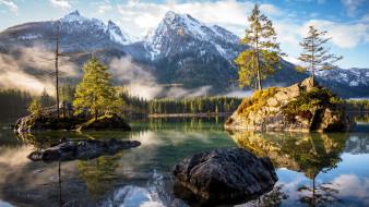 природа, реки, озера, бавария, германия