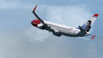 boeing 737, авиация, пассажирские самолёты, boeing, 737, freddie, mercury, самолет, пассажирский, аэрография