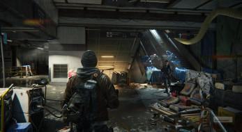 видео игры, tom clancy`s the division, персонажи, метро, развалины, мусор