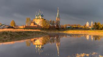 обои для рабочего стола 1920x1080 города, - православные церкви,  монастыри, село, дунилово, ивановская, область