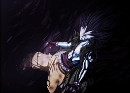 аниме, fairy tail, дракон, маг, чародей, волшебник, dragon, slayer, gajeel