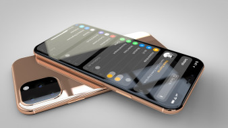 iphone, xi, concept, 2019, мобильный телефон, концепт