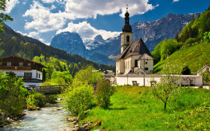 St Sebastian Church,Bavaria,Germany обои для рабочего стола 1920x1200 st sebastian church, bavaria, germany, города, - католические соборы,  костелы,  аббатства, st, sebastian, church