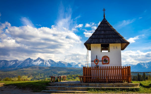 tatra mountains,  poland, города, - католические соборы,  костелы,  аббатства, костел