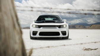 2021 dodge charger srt hellcat redeye, автомобили, dodge, 2021, charger, srt, hellcat, redeye, белый, вид, спереди