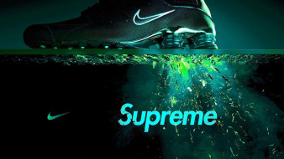 supreme, кроссовки, nike, реклама