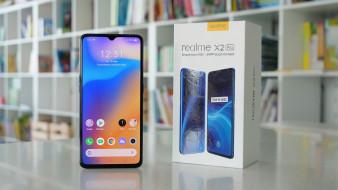 смартфон, realme x2 pro, упаковка, snapdragon 855 plus, квадрокамера