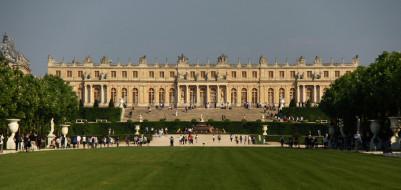 chateau de versailles, города, замки франции, chateau, de, versailles