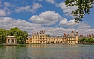 chateau de fontainebleau, города, замки франции, chateau, de, fontainebleau