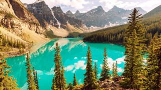 moraine lake, banff national park, alberta, canada, природа, реки, озера, moraine, lake, banff, national, park